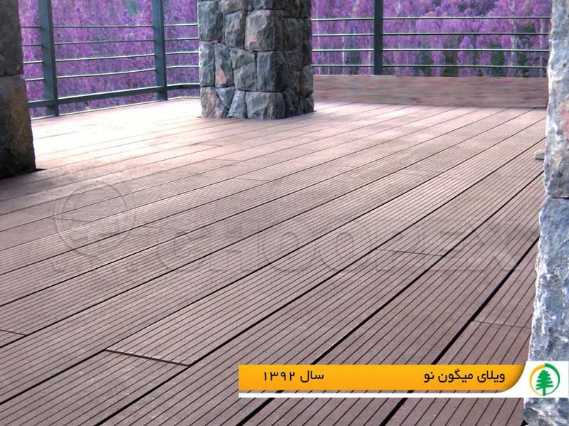 جنس پکفپوش های چوبی