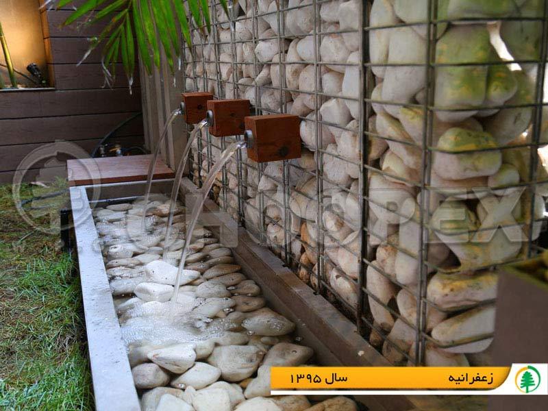 گابیون سنگی در ایران