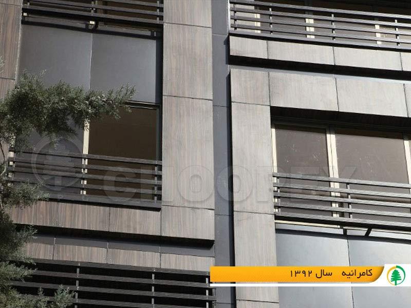کاربرد چوب پلاست در نمای ساختمان