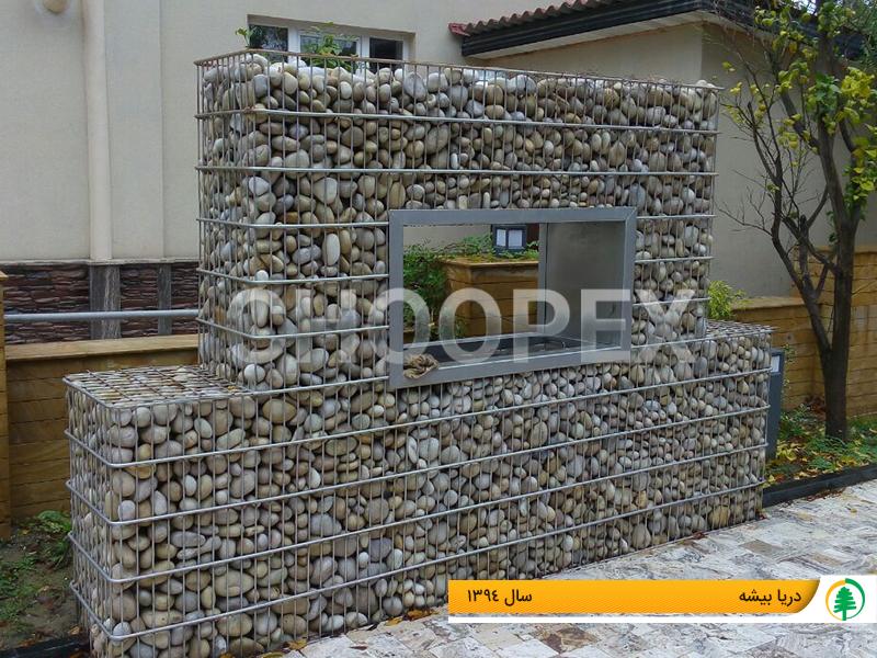 کاربرد گابیون سنگی