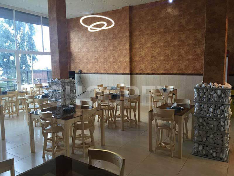 رستوران طراحی داخلی