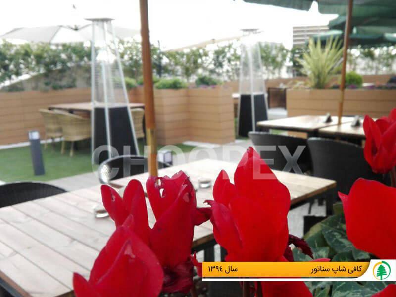 گلدان کافی شاپ و رستوران