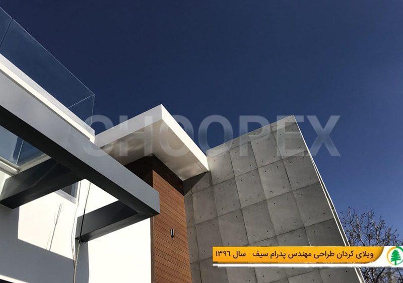 نمای چوب پلاستی ایران