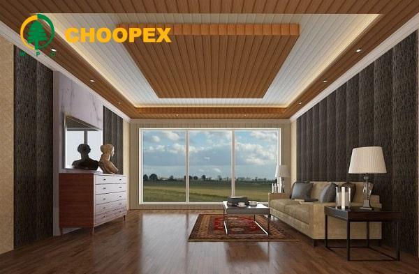 مزایای سقف کاذب چوبی