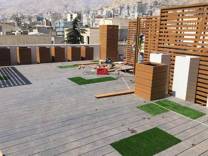 پروژه چوب پلاست فرمانیه