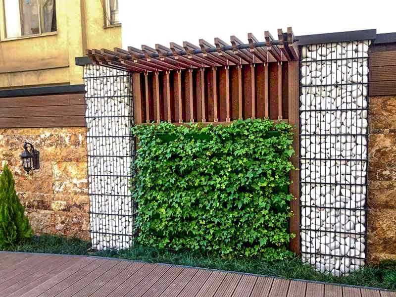 توری و دیوار گابیون چیست + 8 روش زیباسازی انواع گابیون