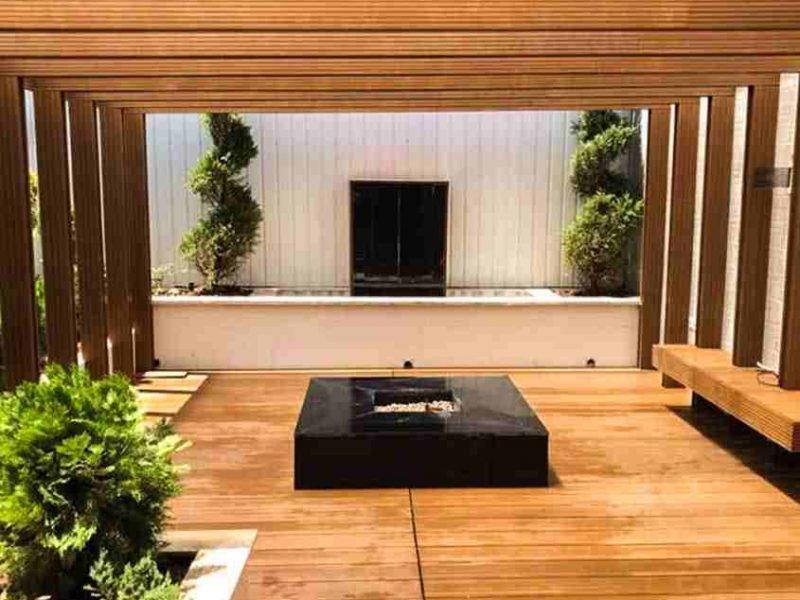 هشت روش برای داشتن آلاچیق چوبی رویایی