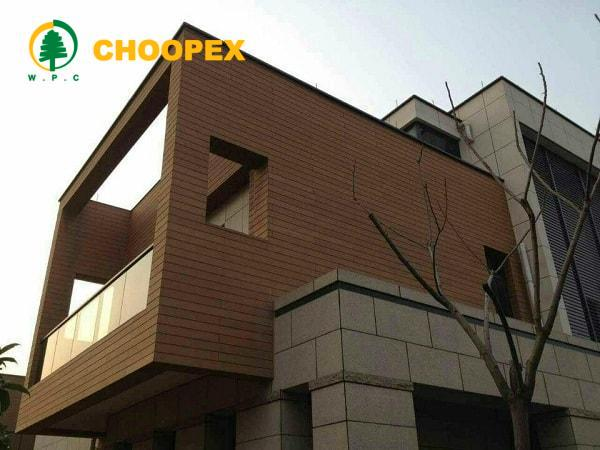 مقایسه نمای چوبی ساختمان و نمای کامپوزیت
