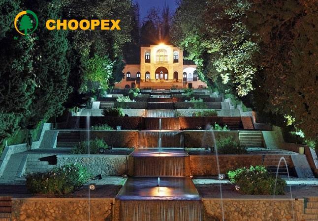 الگوی باغ سازی ایرانی