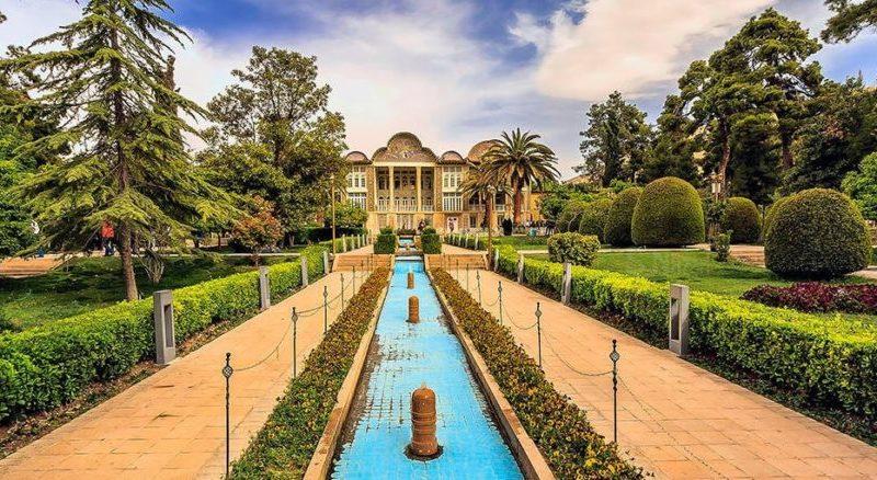 استفاده از پارامترهای موجود در باغ ایرانی در طراحی روف گاردن