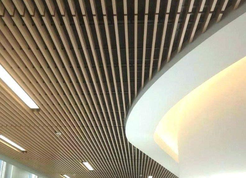 فرآیند طراحی سقف کاذب چوبی