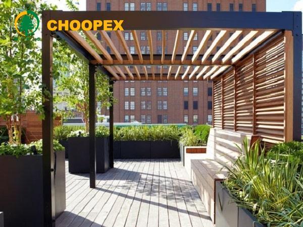 ایجاد فضای سبز و زنده برروی پشت بام