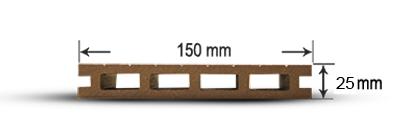 پروفیل چوب پلاست