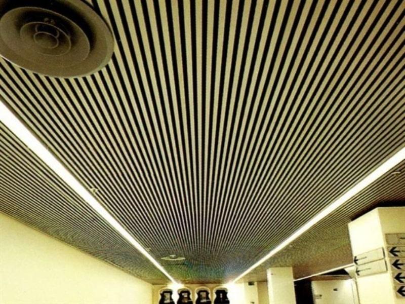 سقف لوور چوبی