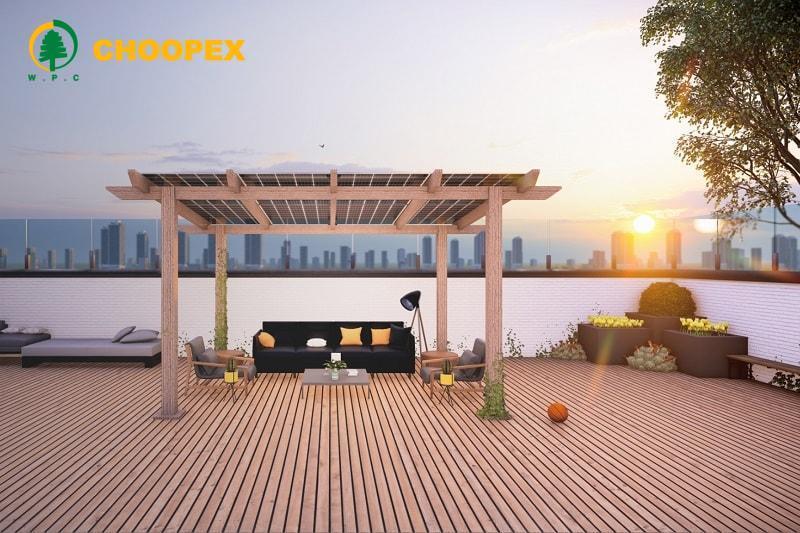 استفاده از پنل خورشیدی در سقف بام سبز!