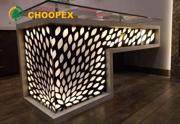 چوب پلاستیک در معماری داخلی ساختمان