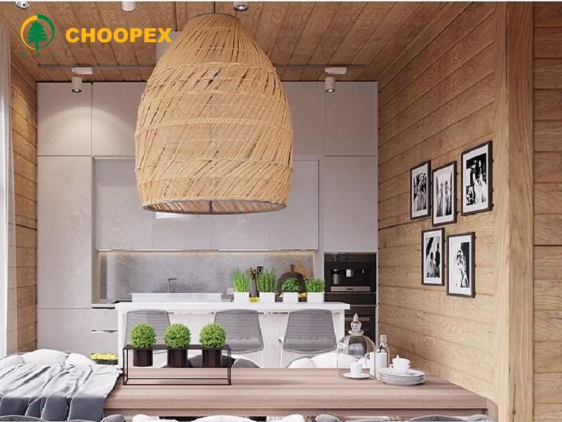 معماری داخلی مدرن   چوب پلاستیک در معماری داخلی ساختمان