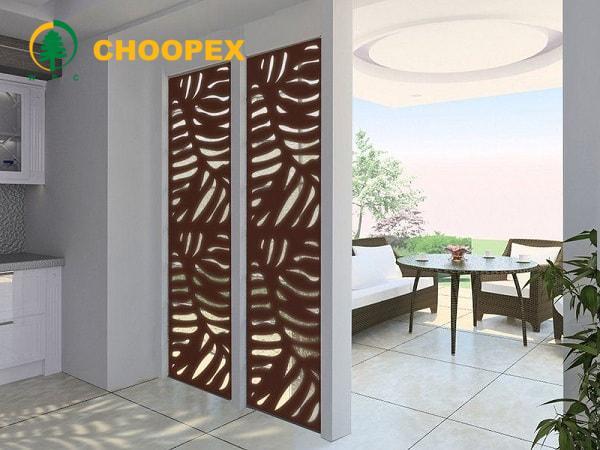 نرده چوبی در معماری داخلی