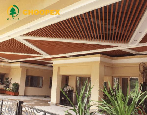 سقف کاذب چوبی در معماری داخلی