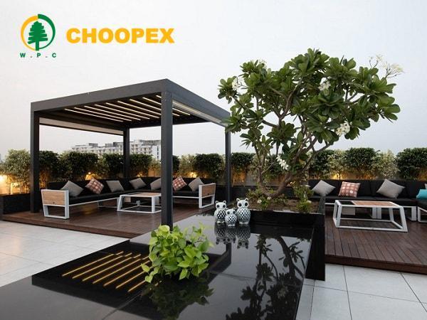 فضاسازی پشت بام منزل | طراحی پشت بام آپارتمان