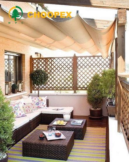 طراحی فضای سبز در بالکن