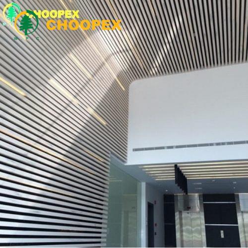 روش نصب سقف کاذب چوبی با پروفیل چوب پلاست