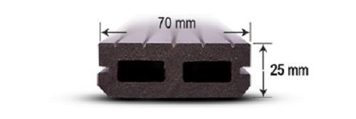 پروفیل چوب پلاست N3