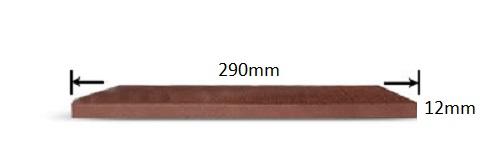 پروفیل چوب پلاست K1