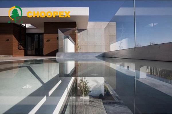 استفاده از چوب پلاست در طراحی ساختمان ویلایی
