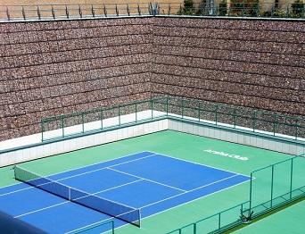 کاور پروژه زمین تنیس