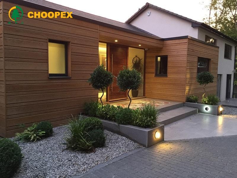 طراحی ورودی ساختمان به سبکی مدرن