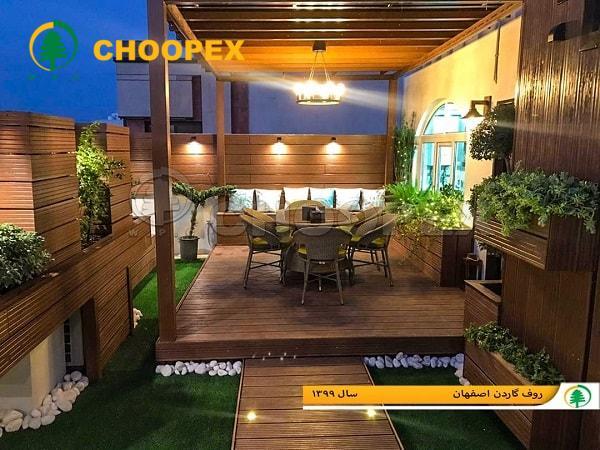 پروژه روف گاردن اصفهان2