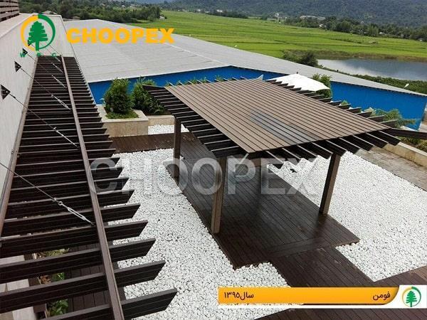 پرگولای ورودی گزینهای مناسب برای محوطه سازی ساختمان