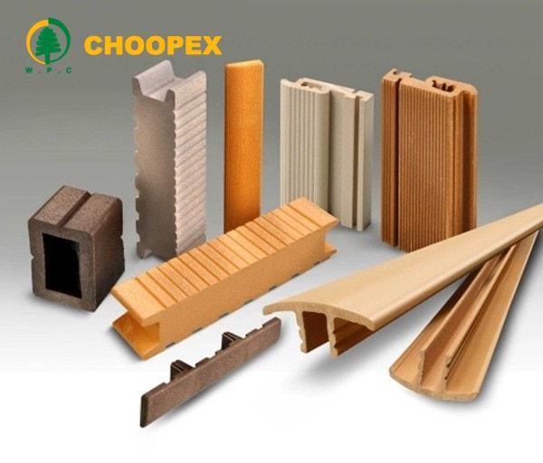 چوب پلاست با رنگبندی و طرح متفاوت