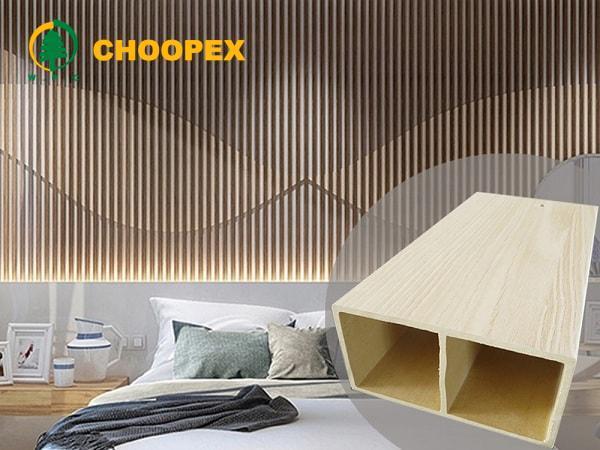 مزایای دیوارپوش قابل اجرا با چوب پلاستیک