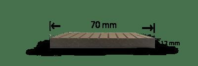 پروفیل چوب پلاست N2