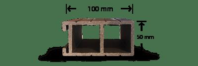 پروفیل چوب پلاست N4