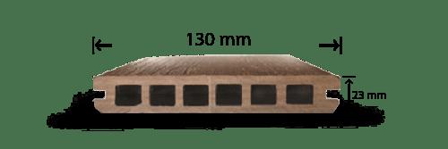 پروفیل چوب پلاست UT