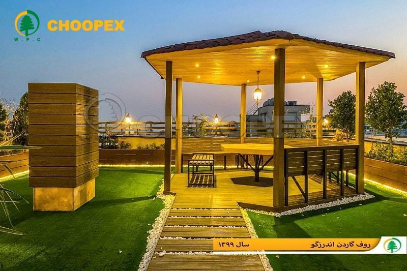بهترین سازه سبک برای ساخت و ساز در پشت بام !