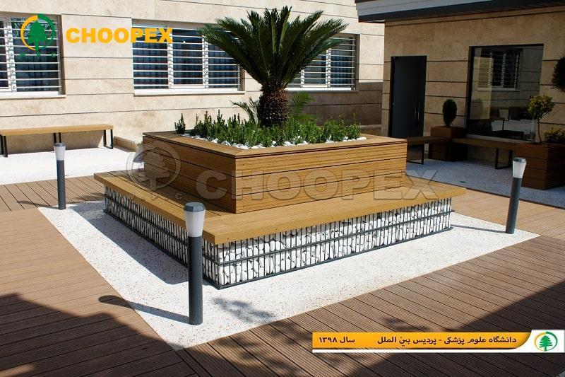 طراحی و تولید انواع مبلمان شهری با متریالی نوین!