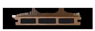 پروفیل چوب پلاست HC / پروفیل چوب پلاستیک HC