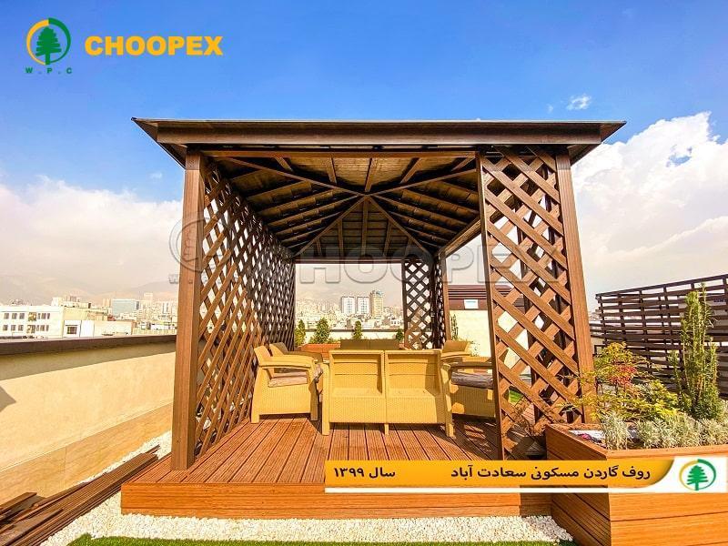 آلاچیق سیمانی و مقایسه آن با مدل چوبی پرطرفدار!