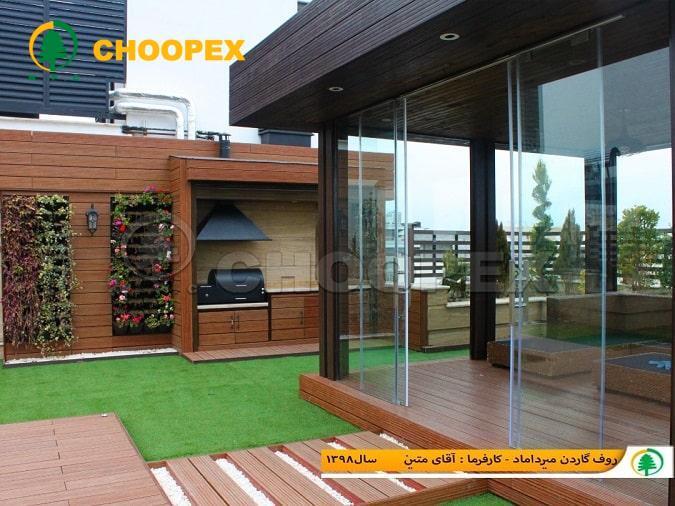 طرز ساخت آلاچیق سیمانی و مقایسه آن با مدل چوبی پرطرفدار!