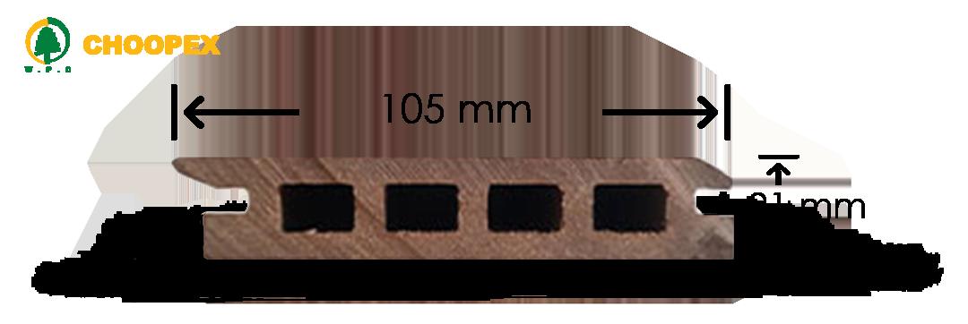 پروفیل چوب پلاست ULTRA-V