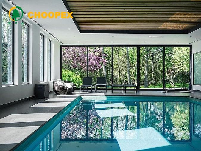 طراحی سقف کاذب استخر