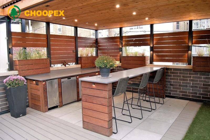 آشپزخانه فضای باز ایده جذاب برای تمام فصول!