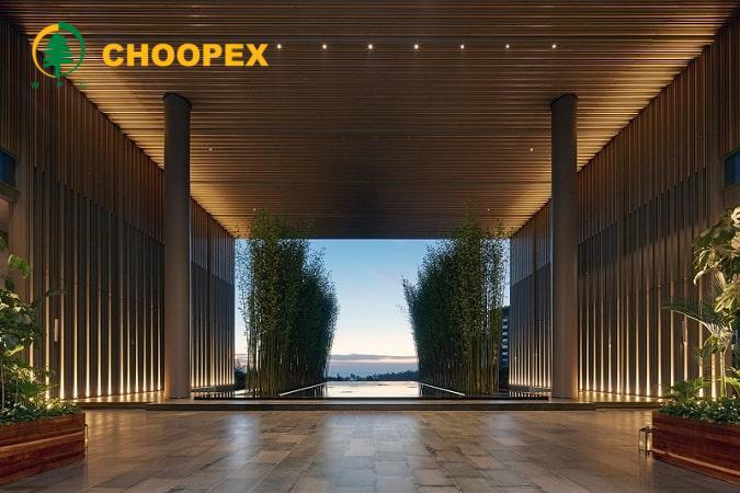 توجه به نمای بیرونی در طراحی ورودی هتل