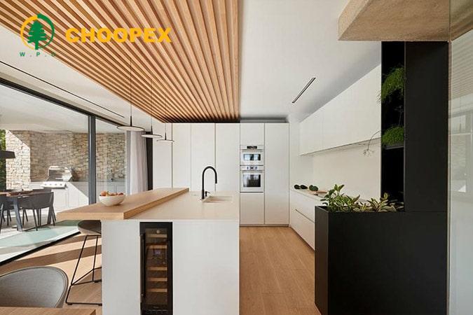 روشنایی سقف کاذب آشپزخانه