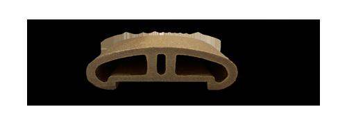 پروفیل چوب پلاست H1