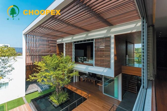 سازه و مبلمان را برای فضای باز ساختمان در نظر بگیرید !